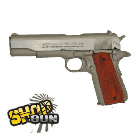 1911 Seventies Stainless Blowback Calibre 4.5mm - 1.6