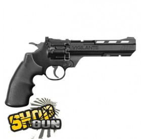 Revolver VIGILANTE Cal 4.5mm billes/plombs CO2 - 4.4J