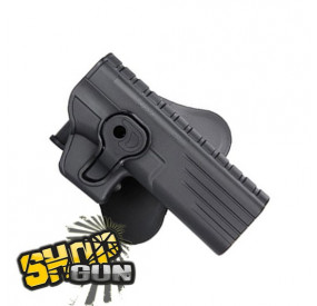 Holster droit paddle CQC 360° Glock