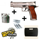 Pack Sig Sauer X-five Hairline Co² Blowback - Full Kit