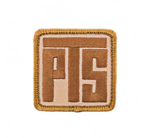 MAGPUL PTS logo patch desert tan