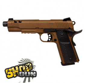 PISTOLA CO2 BLOW BACK RUDIS V ACTA NON VERBA BRONZE SECUTOR