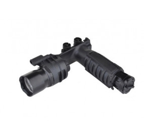 M910A VERTICAL FOREGRIP WEAPONLIGHT(WITH SF LETTERING) - NOIRE