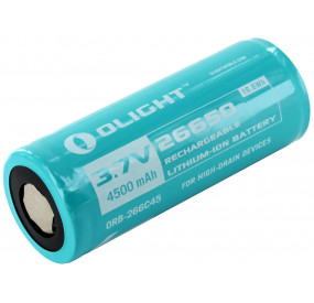 Pile rechargeable OLIGHT 26650 Li-ion 3.7V 4500mAh