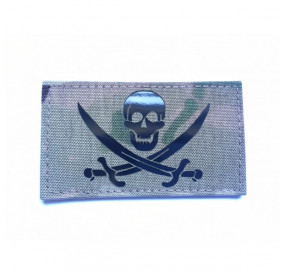 Patch Calico Jack Camo Fieldcut Reflective LPT