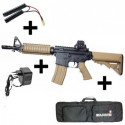Pack Colt CQB Dark Earth/Noir Starter Kit