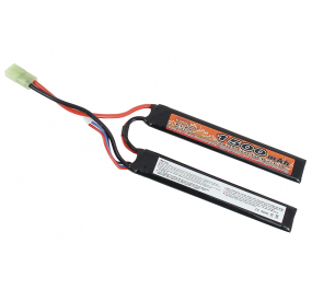 BATTERIE LIPO 7.4V 15C 1500mAh 2 sticks