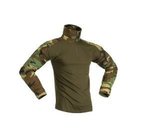 Combat Shirt Woodland INVADER GEAR - L