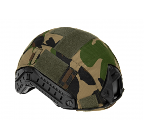 Couvre Casque FAST Helmet Woodland INVADER GEAR
