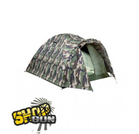 Tente igloo 2 places camouflage (cam ce)