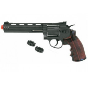 "WIN GUN REVOLVER 6"" CO2"