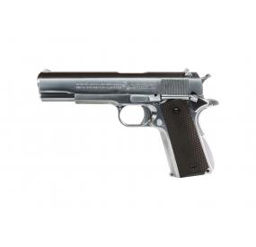 WE Colt 1911 Blowback Fullmetal Gaz Silver