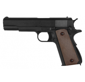 COLT 1911 BLACK METAL 6MM CO2 & GBB 1J