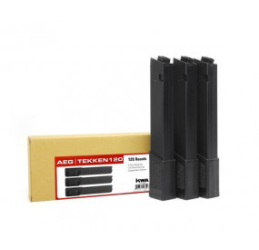 Pack 3 Chargeurs TK.45 120 billes mid-cap KWA