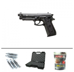 Pack Pistolet Taurus PT92 CO2 FULL METAL