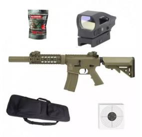 Pack Colt M4 Full métal Silent ops TAN 1,2 J