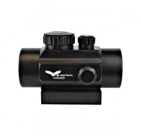 JS-TACTICAL RED DOT 40MM TUBE BLACK