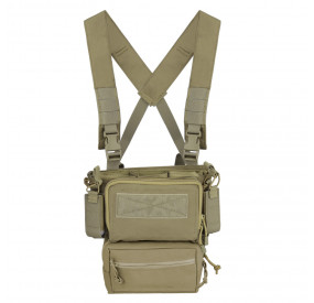 Chest rig type Haley Strategics D3CRM Coyote Brown Swiss Arms