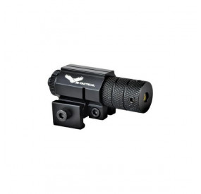 Laser rouge fixation rail picatinny noir JS Tactical