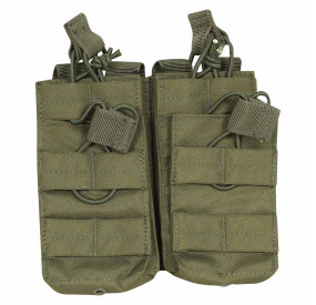 Porte 4 chargeurs MOLLE Olive Viper Tactical