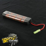 Batterie 9.6v 1600 mAh Ni-MH XCITE POWER