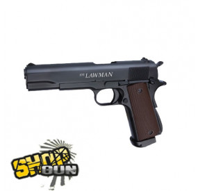 STI 1911 LAWMAN Fulmetal Blowback Co²