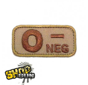 Patch groupe sanguin O - DE