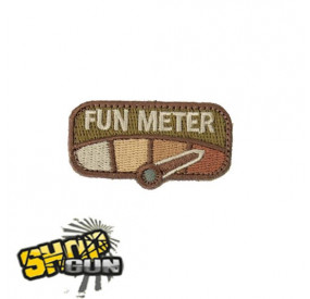 "Patch velcro ""Fun meter"" MC"