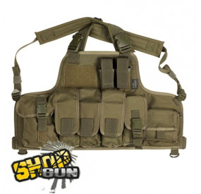 Chest Rigg Strike Systems Green
