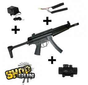 Pack GSG-522 crosse rétractable ICS