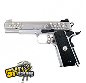 1911 Fullmetal Blowback KnightHawk Chrome