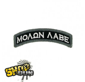 "Patch velcro ""Molon Tab"" Swat"