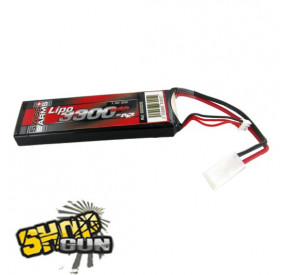 Batterie Li-po 7.4V/3300mAh 35C Swiss Arms