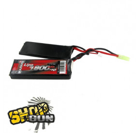 Batterie Li-po 11.1V/1800mAh 30C twin Swiss Arms