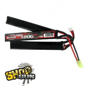 Batterie Li-po 11.1V/1200mAh 25C triple stick