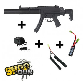 Pack GSG5 SD6 Fullmétal Blowback MOSFET
