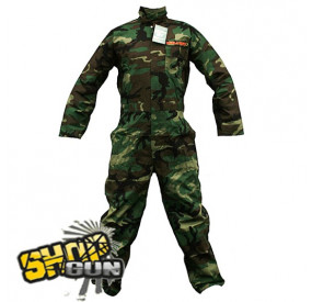 Combinaison Camo Woodland Ripstop Taille S