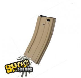 Chargeur 120 billes Scar-L MK16 Tan