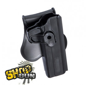 Holster droit paddle rotation 360° Colt 1911
