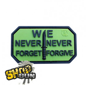 "Patch velcro ""we never forget"" OD"