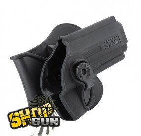 Holster CQC 360° paddle Beretta M9-A1/PT92/M92 droitier Cytac