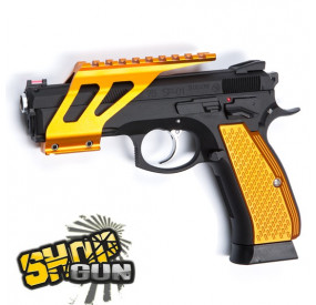 Rail de montage CNC Orange pour CZ SP-01 Shadow