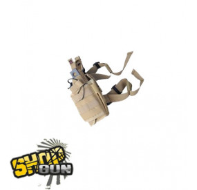 Holster cuisse universel DM Tan